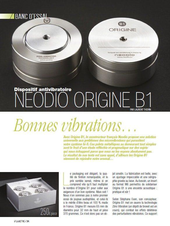 Vumètre B1 Neodio